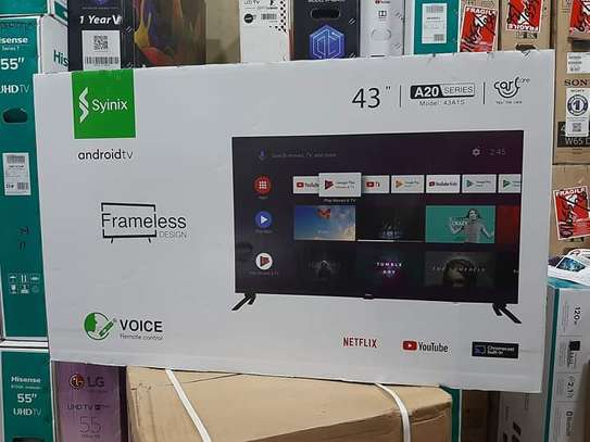 """43"""" Synix smart Android frameless full HD tv image 1"""
