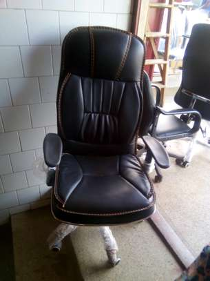 Executive adjustable office chairs image 9