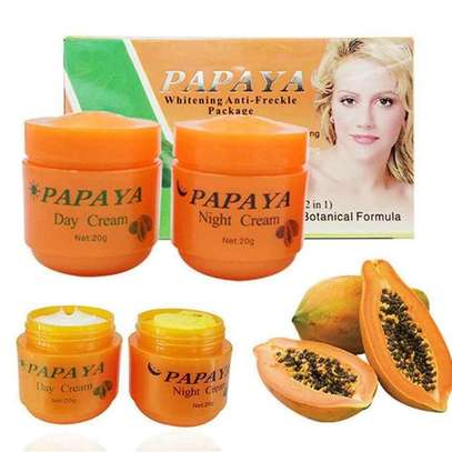 PAPAYA Whitening   Natural botanical formula skin care whitening cream. image 3