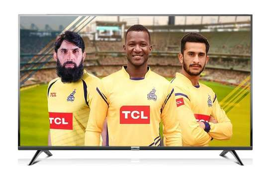 TCL 40 inches smart LED Android TV 2020- 40S68SA image 1