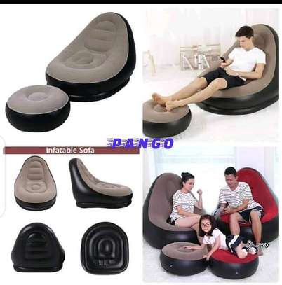 Quality inflatable Air sofa chair image 1