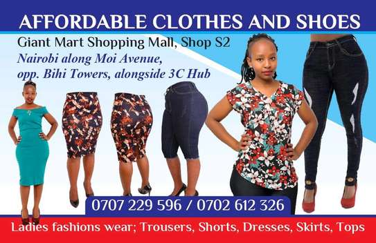 Affordable clothes and shoes