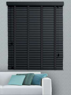 Office blinds grey