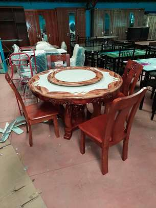6 Seater Marble Dinings image 1