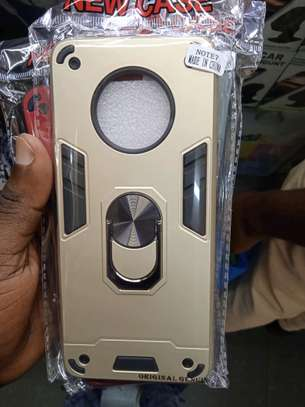 Infinix note 7 Armoured Covers -various colours in shop+Delivery service image 2