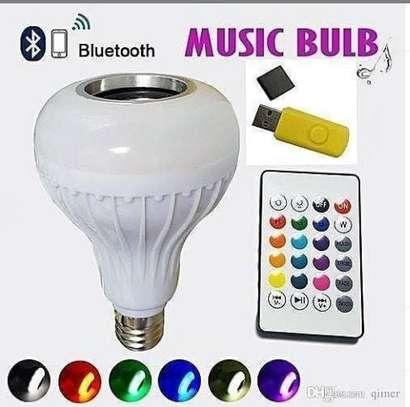 Bluetooth music bulb image 1