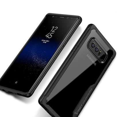IPAKY Hybrid Shockproof Transparent Case for Samsung Note 8 image 2