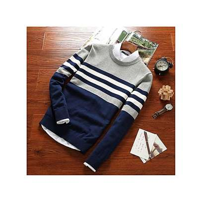 Knitted Brand Male Sweaters image 1