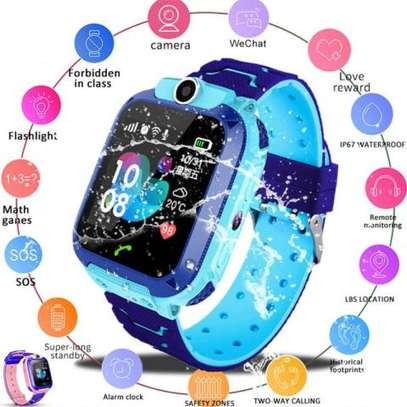 Kids GPS Intelligent Smart Watch - Blue image 5