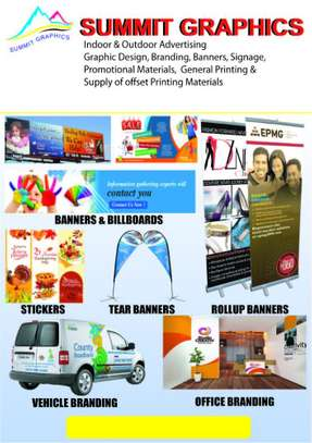 DESIGNING AND PRINTING SERVICES.