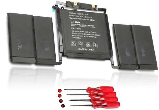 """A1819 020-01705 Battery for Apple MacBook Pro 13 """"Touch A1706 Late 2016 Mid 2017 image 3"""