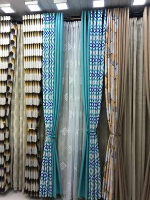 STYLISH SHEERS AND CURTAINS PER METRE @ 1300/= image 2