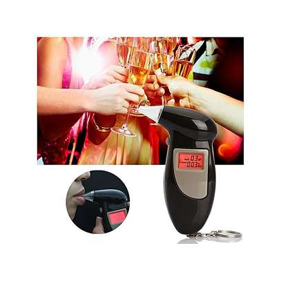 LCD Digital Alcohol Tester Breathalyzer
