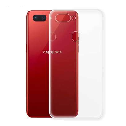 Clear TPU Soft Transparent case for Oppo F9 F9 Pro image 5