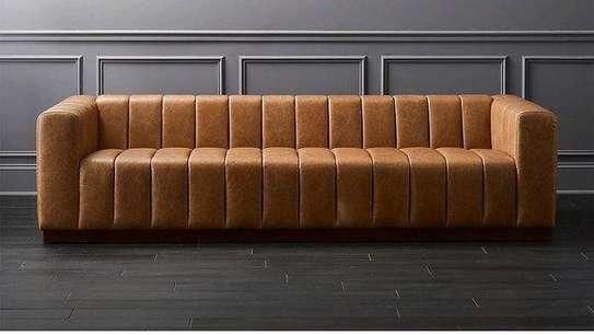 Unique three seater sofa set designs/Latest three seater sofas image 1