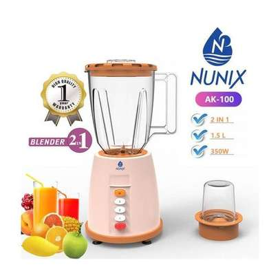 Nunix 2in1 Blender With Grinding Machine - 1.5Litres image 1