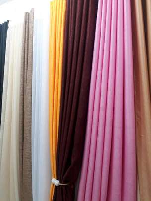 Latest plain curtains
