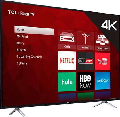 TCL 55 inches Android UHD-4K Smart Digital Tvs 55p8M image 1