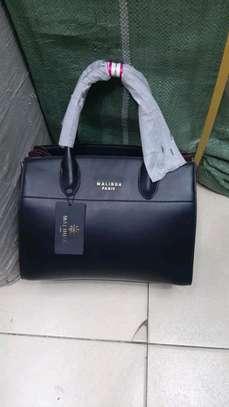 Malinda Paris genuine leather handbag set, image 2
