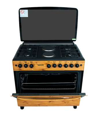 Bruhm Cooker, 90X60cm ,4 Gas + 2 HP image 1