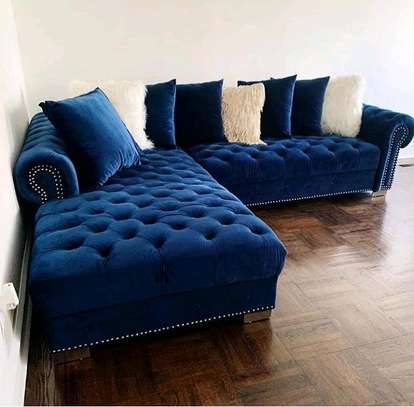 Latest six seater chesterfield sofas for sale in Nairobi Kenya/six seater L shaped sofas/sofas and sectionals/sofas for sale in Nairobi Kenya image 1
