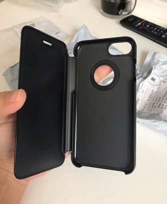 Luxury Mirror View Flip Book Case for iPhone 7/8 image 4