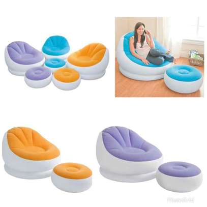 Inflatable seater