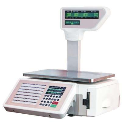 table top receipt Digital Price Computing Weighing Scale. image 1