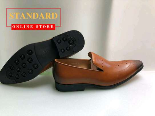 PURE ITALIAN LEATHER SHOES WITH RUBBER SOLE image 20