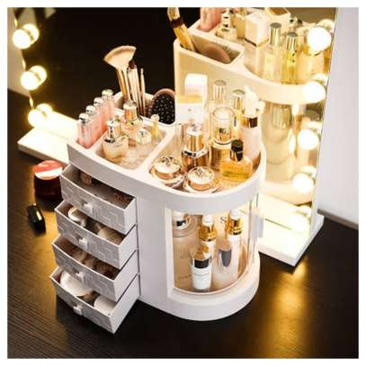 Dustproof Cosmetic organiser/make up organiser image 4