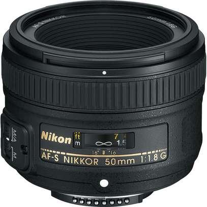 Nikon AF-S NIKKOR 50mm f/1.8G Lens image 1