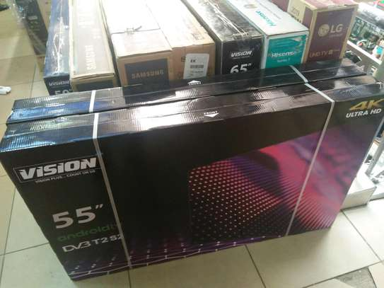 Vision 55 inches smart 4k tv image 1