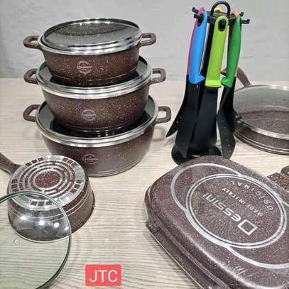 Dessini 23 Pieces Granite Cooking Set image 1