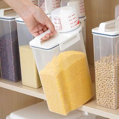 Kitchen Food Cereal Grain Bean Rice Hand With Measuring Cup image 5
