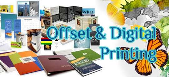 Printing Fliers, Brochures, Business Cards, Banners, Stickers, Receipt Books, Posters, Calendars, Letter Heads, Certificates image 1