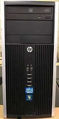 HP Elite Tower Intel Core i5 3.2Ghz Processor 4GB RAM 500 Hard Drive DVD-Rom Windows 10 Home 64 Bit image 1