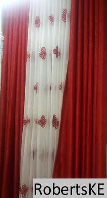dark red curtain image 1