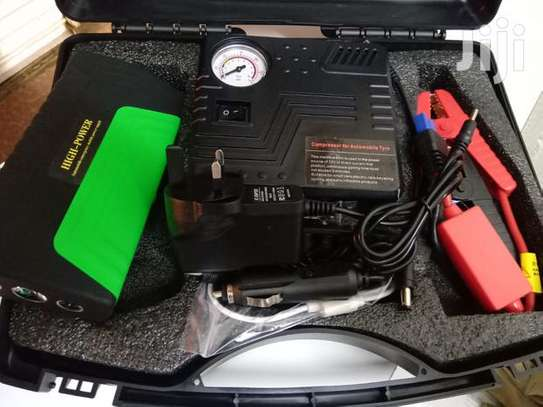 Car Jump Starter With Air Compressor image 1