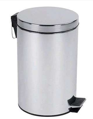 Stainless Steel Dustbin image 1