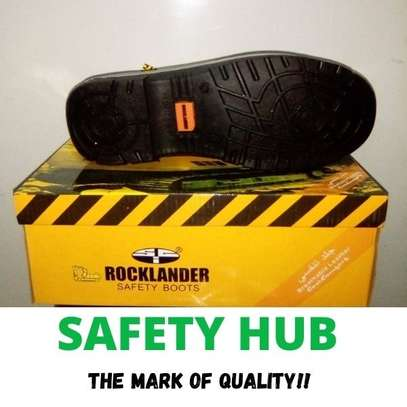 Rocklander industrial safety boots image 3
