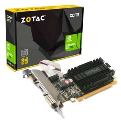 ZOTAC GeForce GT 710 2GB DDR3 PCIE x 1 , DVI, HDMI, VGA image 2