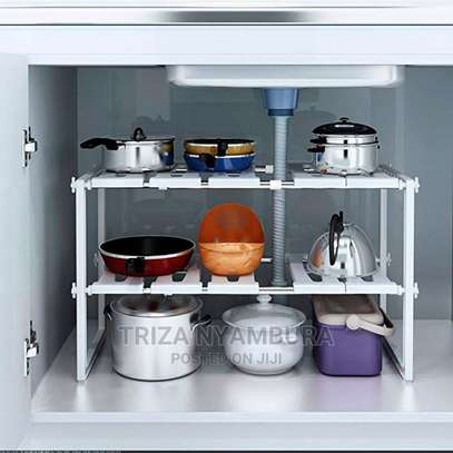 Expandable Under the Sink Organiser image 3