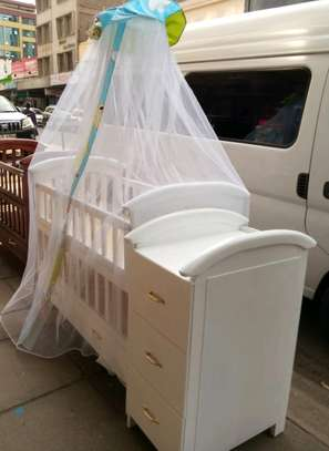 Babycot with stand net image 1