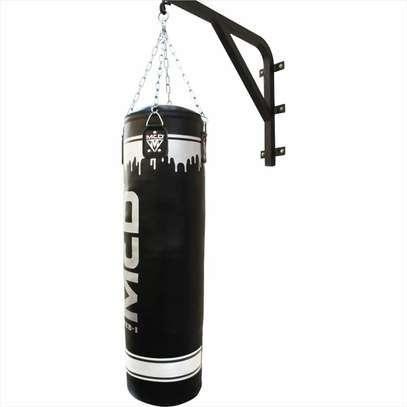 MCD Punching Bag 4FT UNFILLED Set Kick Boxing Heavy MMA Training