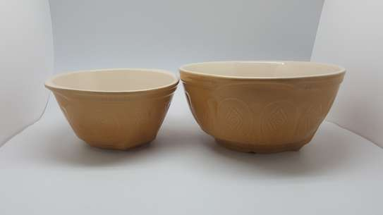 2 pc Ceramic Bowls st image 2