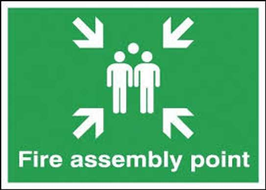 A2 Fire Assembly Point Signage