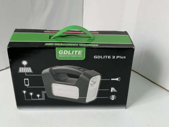 Dat At-9011b Home Solar Lighting System with Radio image 1
