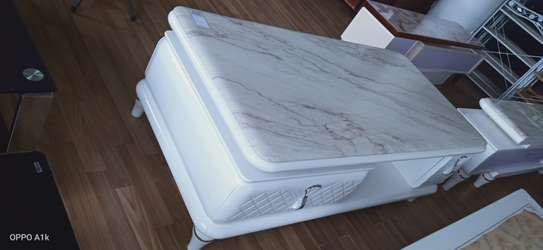 Pure marble white Coffee table image 1
