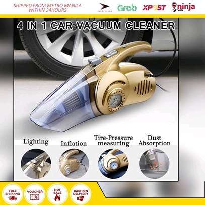 Cat vacuum cleaner with tyre inflator image 1