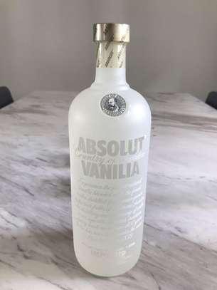 Absolut Vanilla Vodka 40% 100cl 1Ltr 1000ml image 1